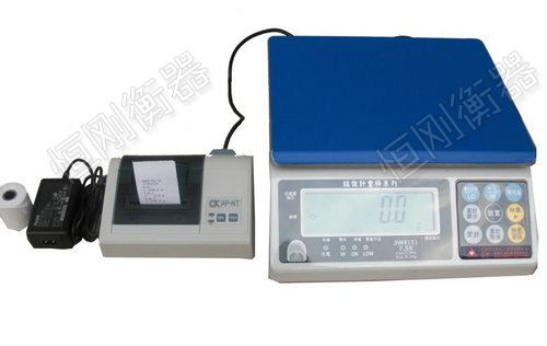 打印电子桌秤