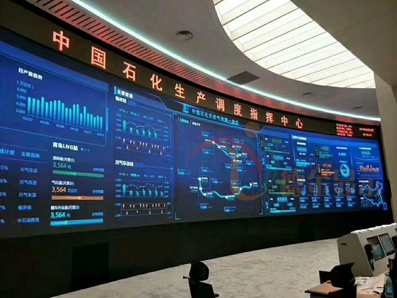 923/p2/p2.5监控中心高清led显示屏