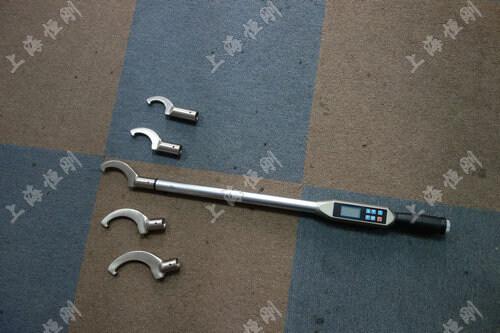 双向测量数显扭力扳手图片(可配勾型头)