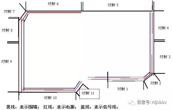红外安防电路原理图
